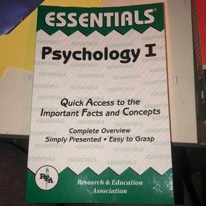 Psychology 1 essentials